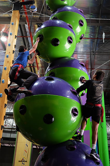 Astroball climb