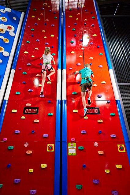 Speedwall climb